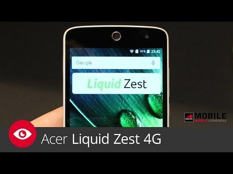 Acer Liquid Zest 4G (MWC 2016)