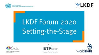 #LKDForum 2020 - Setting-the-Stage (Day 1)