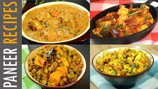 Paneer Recipes For Lunch Dinner | Quick Paneer Recipes | Indian Lunch Recipe