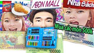 Thử Thách Laytv Mua Đồ Theo Giá 10k vs 100k vs 1 Triệu - Shopping 10k vs 100k