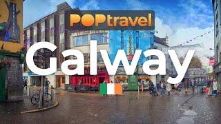 Walking In GALWAY / Ireland 🇮🇪- 4K 60fps (UHD)