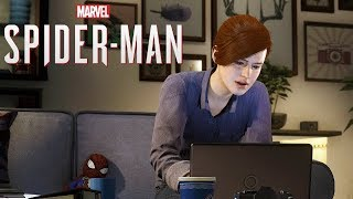 Marvel's Spider Man Part 25 - Dinner Date (Meet Mary Jane at Her Apartment for Dinner)