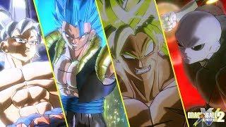 Dragon Ball Xenoverse 2 : All DLC's Ultimate Attack & Transformation!