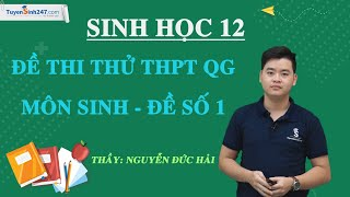 : Đề thi thử THPT QG môn Sinh 2020 - Đề số 1 – Thầy Nguyễn Đức Hải