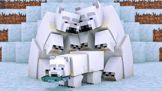 Polar Bear Life   Minecraft Animation