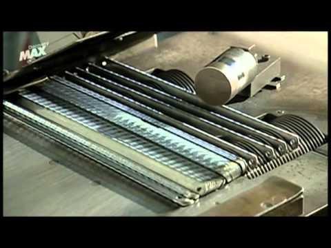 Cómo se fabrican las hojas de sierra de metal.webm