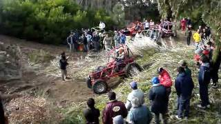 preview picture of video 'todoterreno vuelco en monte hermoso'