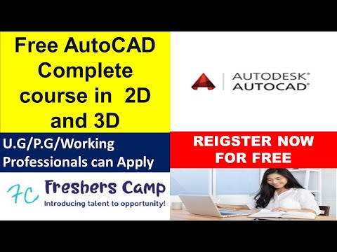 Free Autocad online course with certificate   Complete course in ...