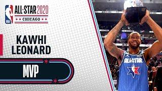 Best Of Kawhi Leonard NBA All-Star Game MVP   NBA All-Star 2020