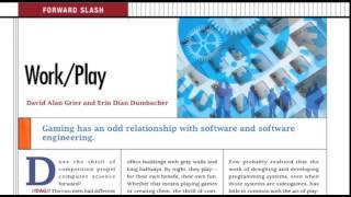 Forward Slash: Work/Play
