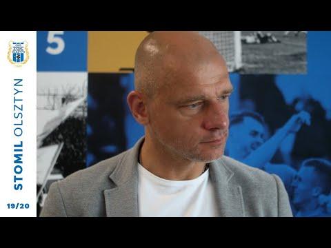 Wojciech Kowalewski o zmiana w sztabie szkoleniowym Stomilu