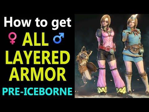 Layered Armor Monster Hunter World Genel Tartismalar
