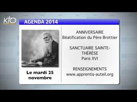 Agenda du 17 novembre 2014