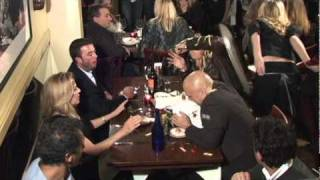 Waitress Spills Tray of Food on Actor Joe Pantoliano