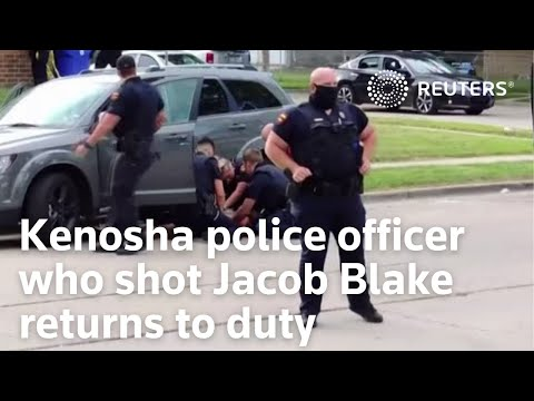 White officer who shot and paralyzed Black man in Kenosha, Wisconsin, returned to duty