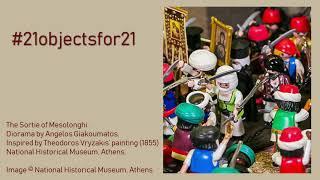 """The Sortie of Mesolonghi"" from '21 allios': The Greek War of Independence in Playmobil Dioramas | presented by Regina Katsimardou, Natasa Kastriti & Panagiota Panariti"