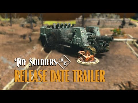 Toy Soldiers HD : Release Date Trailer
