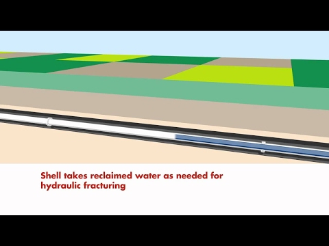 Water usage, recycling and reclamation cycle for Shell's Groundbirch natural gas development