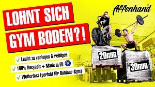 Gymboden, Sportboden, Gummimatten, Fitness Boden - alles was du wissen musst - Affenhand Made in EU