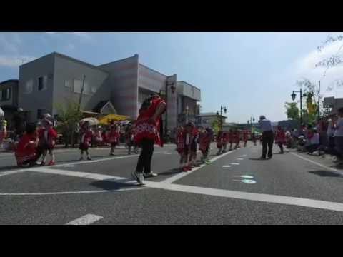 清心幼稚園遊戯(千厩夏祭り2016.7.30)