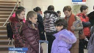 В Москву с метелью и бубнами. Дети Севера отправились на главную Ёлку страны