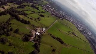 August Fpv flight trip round the Yorkshire Dales and Pennines