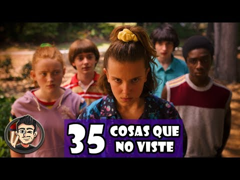 35 Cosas Que No Viste En El Trailer De Stranger Things 3 De Netflix (Temporada 3)