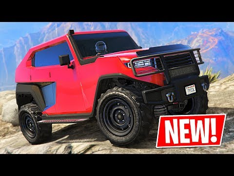 New 4x4 Off-Road Truck!! Freecrawler Tank Spending Spree! (GTA 5 Online New Update)