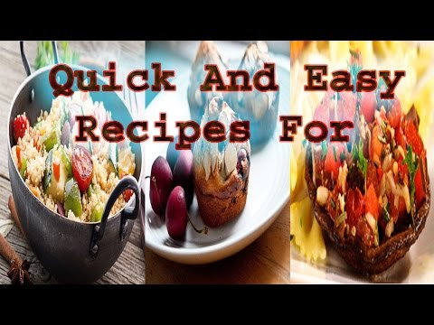 Video Quick And Easy Recipes For High Blood Pressure