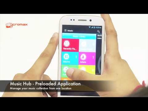 Micromax Canvas 4 - Unboxing Video