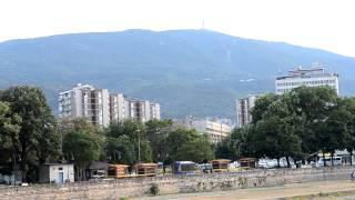 アキーラさん観察①マケドニア・スコピエの山,Skopje,Macedonia