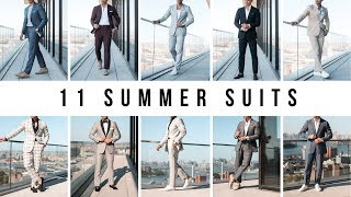 11 Types Of Summer Suits | Mens Fashion Suit Guide | Levitate Style