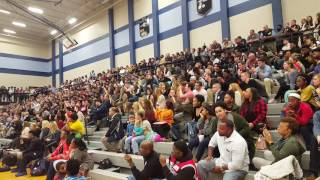 Watch James Clemens gym erupt as Labryant Ray commits to Alabama