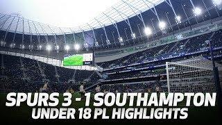FIRST GOAL AT SPURS NEW STADIUM | HIGHLIGHTS | Spurs 3-1 Southampton (Under 18 Premier League)