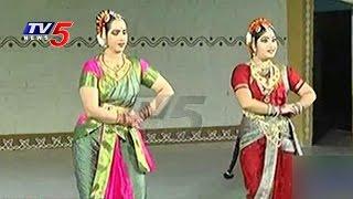 NRI Chinmayi Team Performs Bharatanatyam – Shilparamam