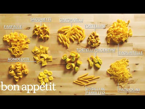 Glorious Handmade Pasta in Multiple Shapes