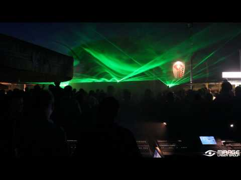 Mirage Laser Group lasershow voor BCP Bouw in Cuijk