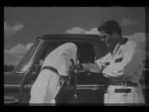 Ford F100 commercial, USA 1966, version for black and white television