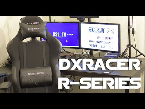 My new DXRACER R-SERIES Overview with spreadsheet of sizes!