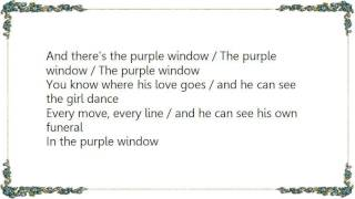 Fatima Mansions - Purple Window Lyrics