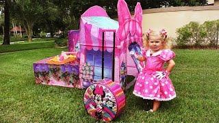 ✿ МИННИ МАУС и КОНФЕТЫ Minnie Mouse Mickey Toys Minnie's Bow Toons Candy sweets Клуб Микки Маусa