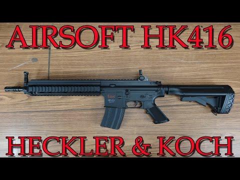"""""""AIRSOFT HK 416 von HECKLER & KOCH"""" -Vorstellung"""