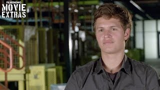 The Divergent Series Allegiant Ansel Elgort Caleb Prior Behind The Scenes Movie Interview 2016