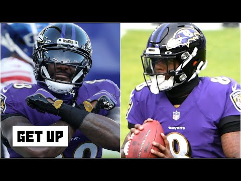 Reacting to Dez Bryant's tweet about the 'hate' Lamar Jackson receives   Get Up