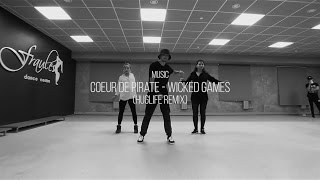 "Choreo workshop by Panchos in da Fraules Dance Centre (Song: ""Wicked Games (HugLife Remix)"""
