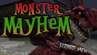 Monster Mayhem - Lizard Men (Garry's Mod)