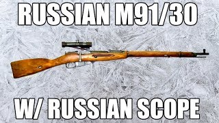 Original Tula Manufactured Russian Mosin Nagant PU Sniper Rifle M91/30 Arsenal Refurbished w/ Russian Manufactured PU Scope and Mount - 7.62x54R - Very Good to Excellent Surplus Condition - C & R Eligible