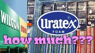 Wilcon depot mattress price (uratex foam)
