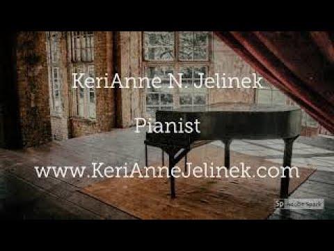 Invention No. 4 in D Minor - J.S. Bach KeriAnne N. Jelinek, Pianist