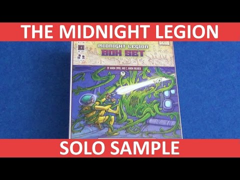 The Midnight Legion: Operation Deep Sleep - Solo Sample (SPOILERS!!)